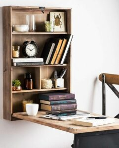 Rustic Fold-Away Desk