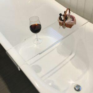 Clear Acrylic Bathtub Caddy