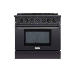 Thor Kitchen HRG3618-BS Gas Range