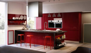 Modern Kitchen Cabinets Can Still Have Color