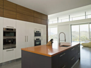 Stained Wood Kitchen Cabinets Styles Can be Modern