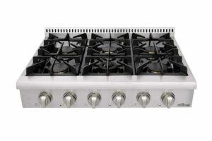 Thor Kitchen Pro-Style Gas Rangetop