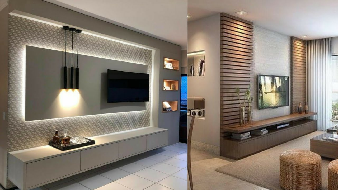 Ideas To Decorate The Wall You Hang Your Tv On Healthy House