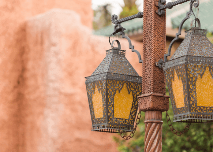 exotic Moroccan lanterns