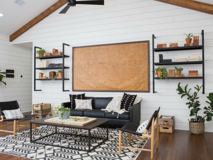 shiplap walls in every room