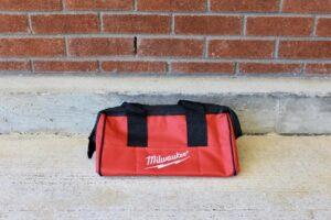 Milwaukee Heavy-Duty Canvas Contractor Bag